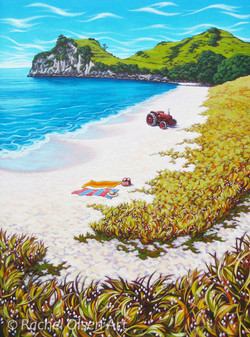Summer Day, Hahei 330x445