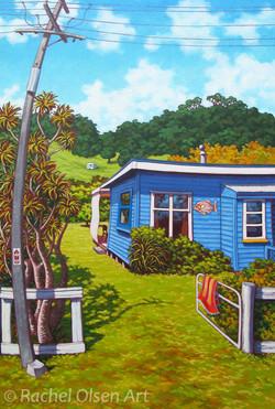 Cooks Beach Bach 2012