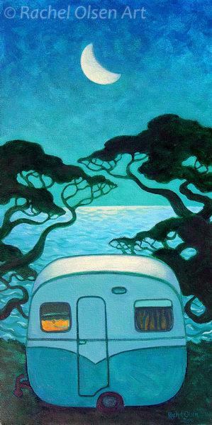 Pohutukawa Moonlight Caravan