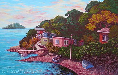 Coastal Baches