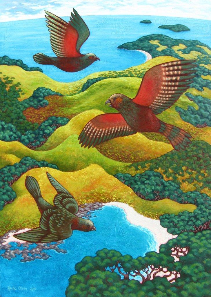Kaka -A Birds Eye View 450x320