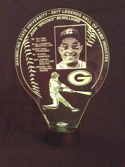Baseball SwagLyte with round plastic base
