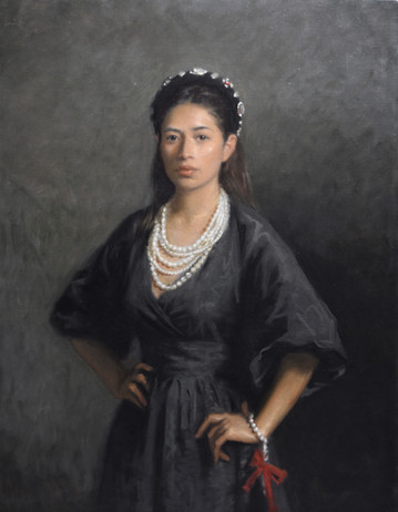 Rominha in pearls