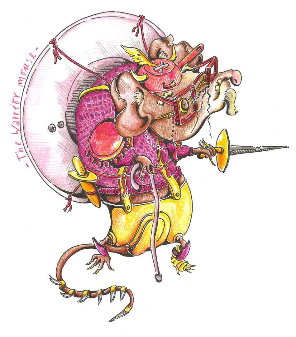 The Mouse Warrior