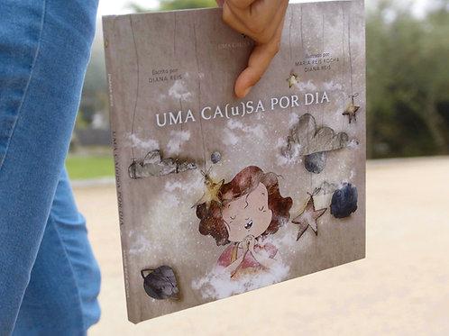 """Livro """"Uma Ca(u)sa Por Dia"""""""