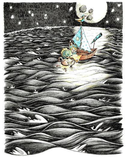 Menino e o Mar