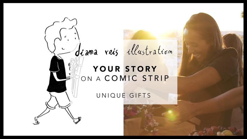 A Tua História em BD