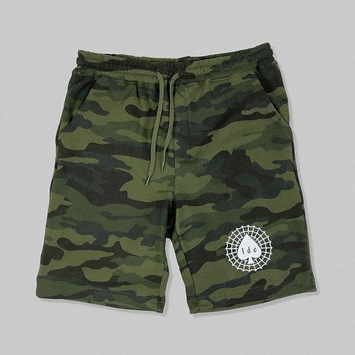 Ace of Spades Camo Fleece Shorts