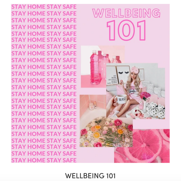Wellbeing 101 blogpost!