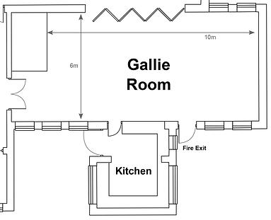 Main Hall layout