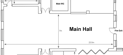 Main Hall layout