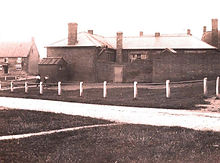Undated photo of the old school