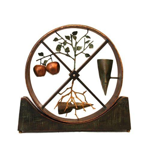 Ghazwan Allaf The Wheel of Life Artwork