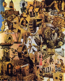 What Key Issues were at Stake in Rosalind Krauss's Analysis of Cubist Collages?