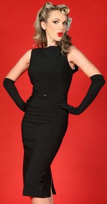 Jazmin Pencil Dress Black