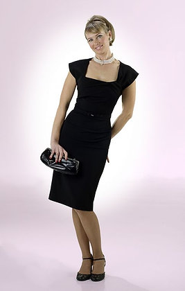 Ella Pencil Dress Black