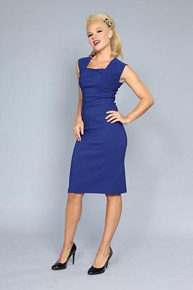 Ella Pencil Dress Royal Blue