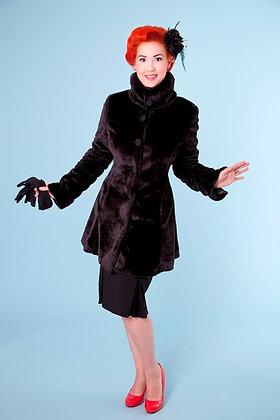 Black Devil Coat Short
