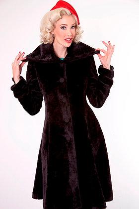 Black Devil Coat Long