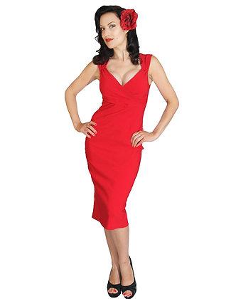 Diva Dress Red