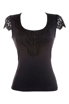 Monica Top Black