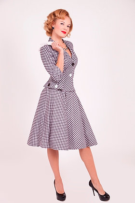 Checkers Circle Skirt