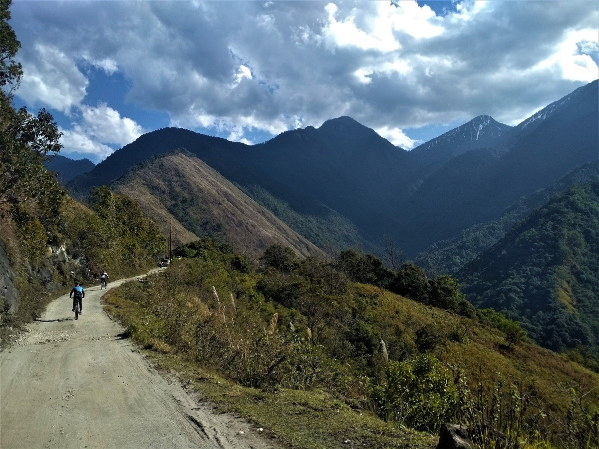 mishmi hills cycle tour main Arunachal P