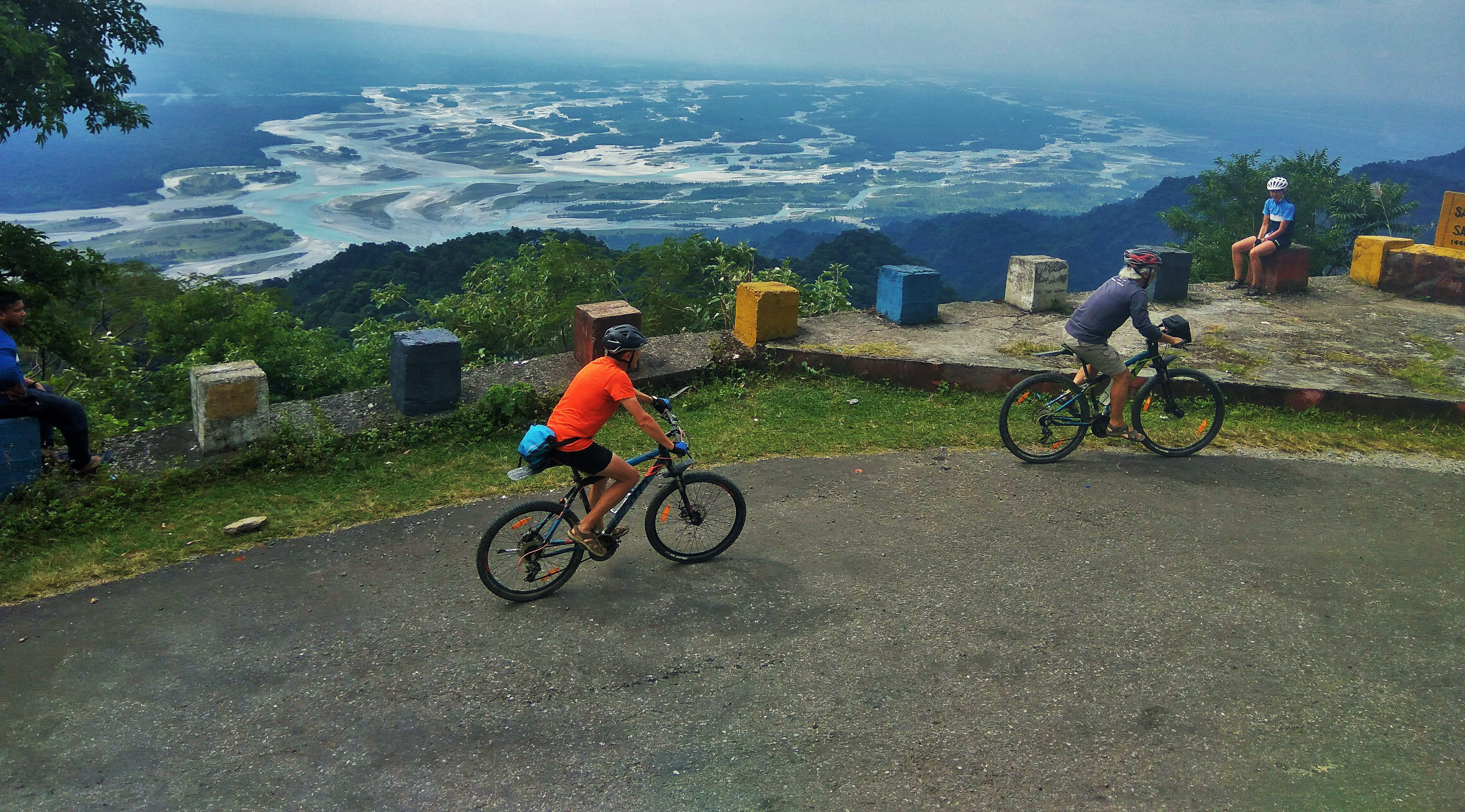 Cycleing in Northeast India