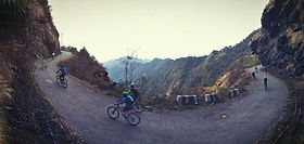 Mishmi Hills cycle tour