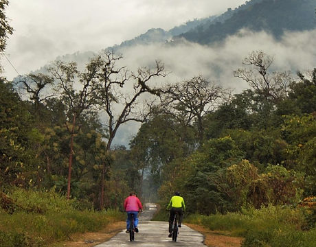 Cycling in Arunachal Pradesh