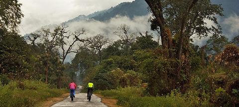 Cycling in Arunachal Pradesh