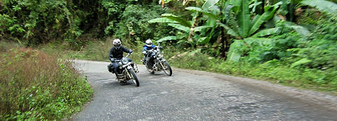 Motorcycle tour northeast India