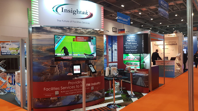 Insightuk at the ExCel Facilities Show London June 2019