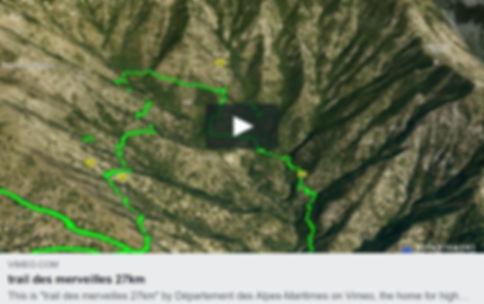 vidéo 3D trail des merveilles 16km