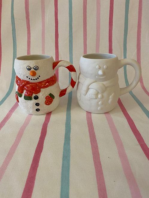 Snowman Shaped Mug