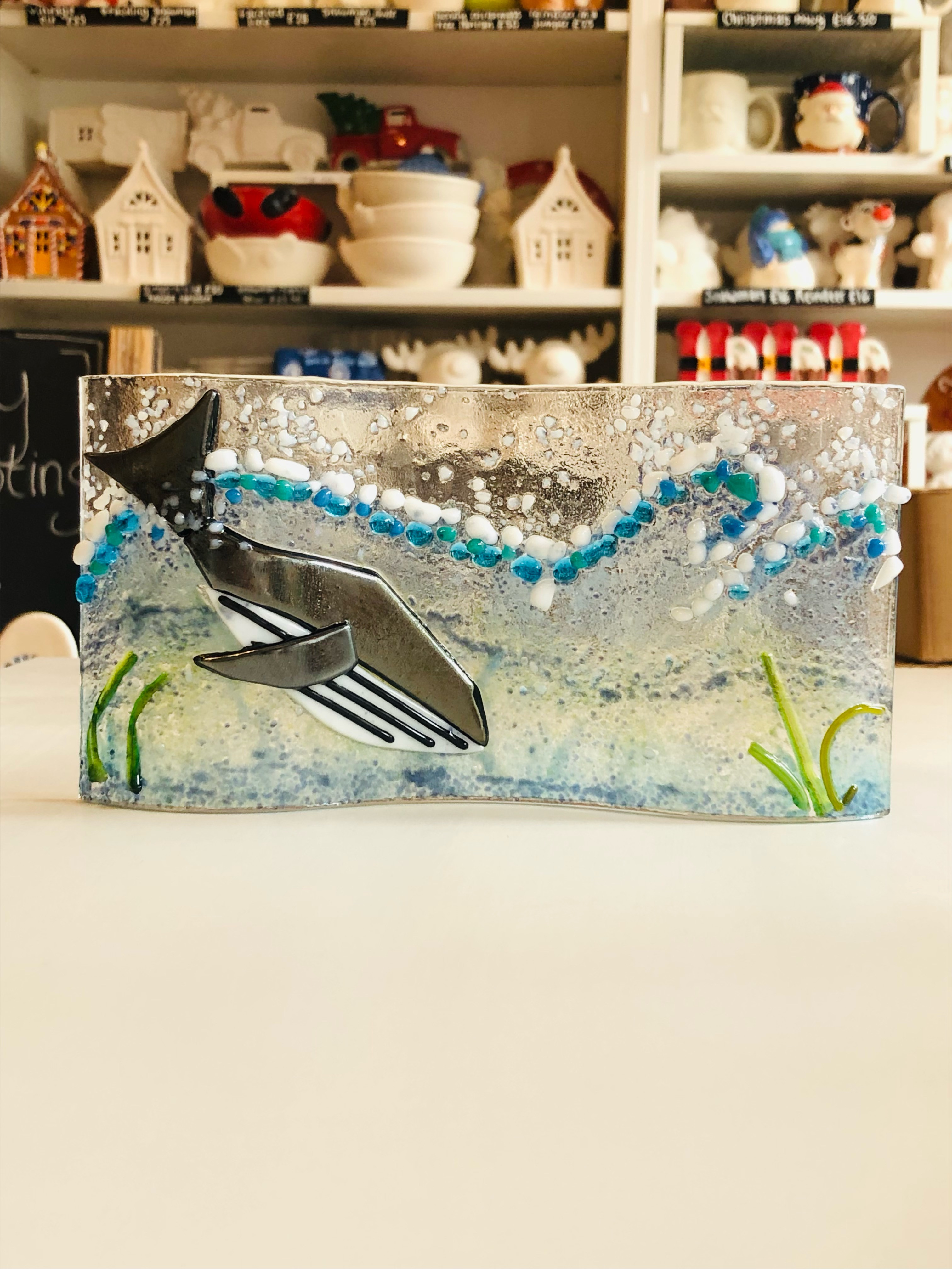 Glass Fusing - Curved Glass Picture