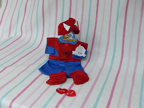 Spider Man Costume For Your Bear