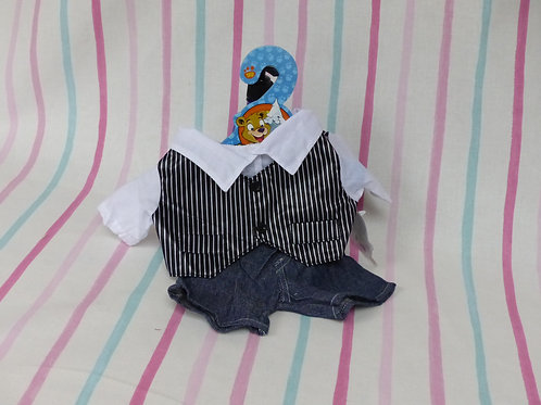 Jeans, shirt and waistcoat Bear Outfit