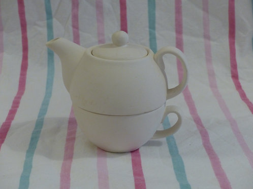 Tea For One - cup and teapot set