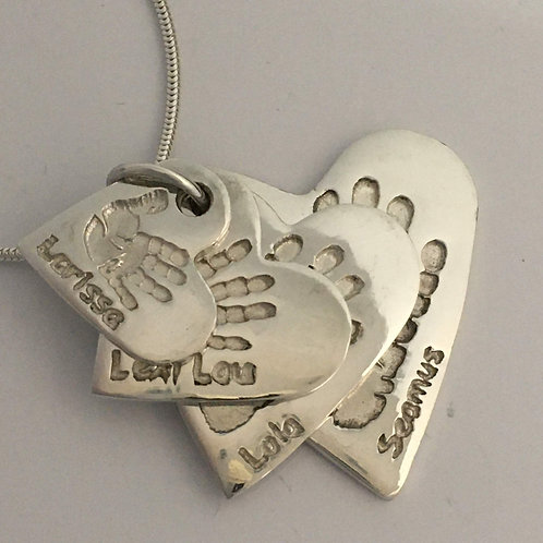 Descending Hearts, Pendants Only, From £145
