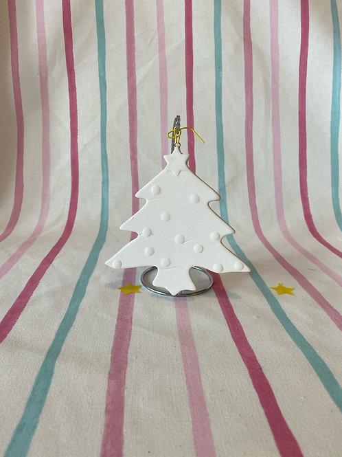 Christmas Flat Hanging Bauble Tree