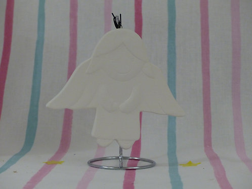 Christmas Flat Hanging Bauble Angel