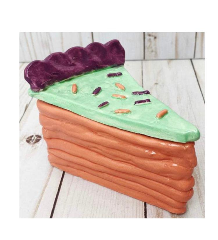 Summer Camp - Clay Cake Trinket Box