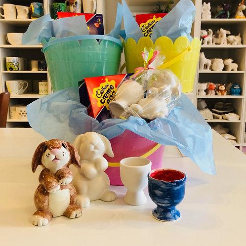 Easter Bunny Basket Gift Set