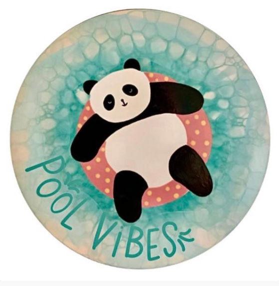 Summer Camp - Pool Vibes Panda Plate