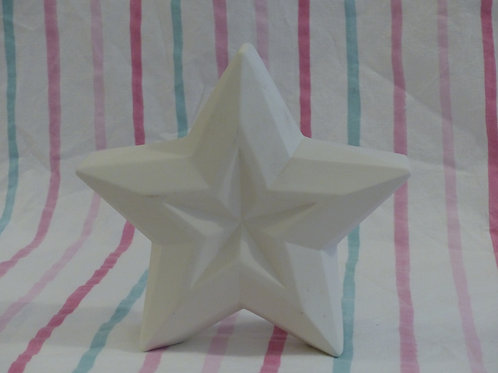 Faceted Star Ornament