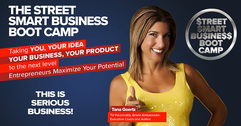 The Street Smart Business Boot Webpage H
