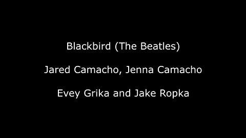Blackbird (The Beatles) - Jared Camacho, Jenna Camacho, Evey Grika and Jake Ropka