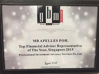 Apelles Poh | Awards