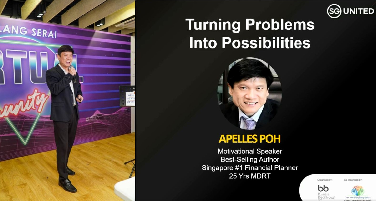 Apelles Poh | Speaker | Trainer
